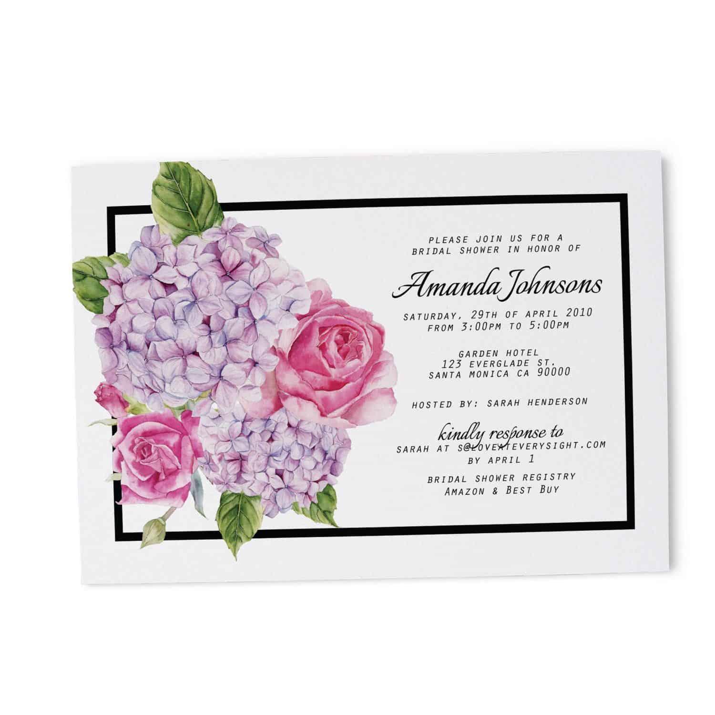 Bridal Shower Invitation Cards Bridal Shower Cards Bridal Shower